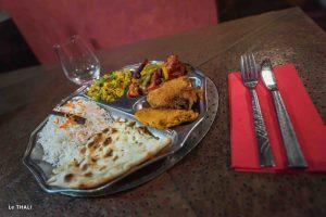 Restaurant indien Lille_plat_Le Thali